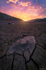 Shine On (Aron Cooperman) Tags: aroncooperman ca california landscape mudcracks nikond850 sunrise dry d850 sunstar mud desert centralcalifornia clouds rocks nature