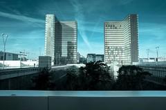 Paris, Grande bibliothèque, 107 (Patrick.Raymond (5M views)) Tags: paris grande bibliothéque 75014 hdr architecture nikon hiver