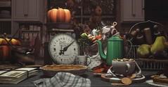 Baking Season (Divos Titanium / / Gallant Magazine) Tags: dustbunny uber ayla 6republic artisanfantasy vespertine collabor88 nutmeg junk