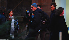 Scotland Glasgow filming new Fast and Furious film Hobbs and Shaw a cameraman filming actors in the street 28 October 2018 by Anne MacKay (Anne MacKay images of interest & wonder) Tags: scotland glasgow city street camera filming actors fast furious film hobbs shaw crew people 28 october 2018 picture by anne mackay