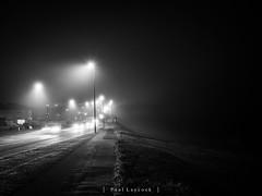 Contrast (amipal) Tags: 175mm england fog gb greatbritain manuallens night saltdean sussex uk unitedkingdom voigtlander