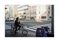 :: Good Morning Tokyo :: (Art-slice) Tags: streetphotography streetjapan japan tokyo filmphotography filmcamera leicam6 leica summicron summicron35mm kodak kodakultramax400 morning