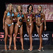 Bikini Masters Tall 4th Diduch 2nd Martino 1st Sadecka 3rd Cloutier