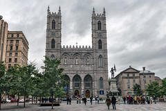 Notre-Dame Basilica (1829), v.05, 110, rue Notre-Dame O, Montreal, QC, Canada (lumierefl) Tags: montreal quebec canada can northamerica frenchcanada architecture building religion religious church christian basilica 1820s 19thcentury
