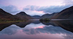 Wastwater dawn (Alf Branch) Tags: westcumbria water wasdale wastwater calmwater refelections reflection westernlakes cumbria clouds cumbrialakedistrict landscape lakes lakedistrict lake lakesdistrict alfbranch sunrise dawn olympus omd olympusomdem5mkii panasonic leicadg818mmf284