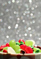 2018 Macro Mondays: Holiday Bokeh (dominotic) Tags: 2018 food macromondays holidaybokeh christmasminijellybeans minichristmasmms christmasfood seasonal confectionery yᑌᗰᗰy foodphotography red green white christmasmug bokeh macro sydney australia
