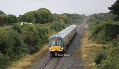 Irish Rail ICR Set 36 at Roscam. (Fred Dean Jnr) Tags: iarnrodeireann irishrail icr 22036 roscam galway september2016 intercityrailcar rotem railcar mgwr midlandgreatwesternrailway