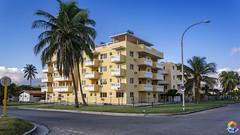 Santa María del Mar (Photo.rfd) Tags: architecture buildings sky clouds blue street grass cuba trees