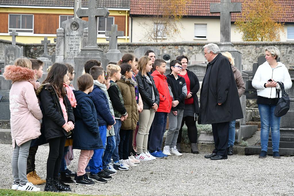 cérémonie dépots de gerbes 14-18 avec les écoles 09.11.2018  (1)