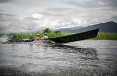 Inle Lake (Laszlo Horvath.) Tags: burma myanmar nikond7100 sigma1835mmf18art inlelake boat water