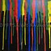 """Color Fall"" by Tabetha P, acrylic, $15.00"