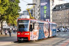 BTS_7127_201811 (Tram Photos) Tags: ckd tatra k2s bratislava dopravnýpodnikbratislava dpb strasenbahn tram tramway električková mhd električka vollwerbung ganzreklame