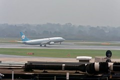 KLM Royal Dutch Airlines 737-800 in retro livery at Manchester Airport (MAN)