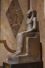 Statue of the goddess Sekhmet from the Temple of Mut at Karnak, ca. 1400 BCE; Kunsthistorisches Museum, Vienna (4)