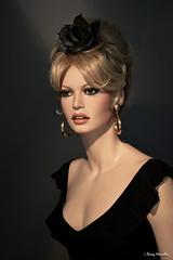 """BB  """"La femme et le pantin"""" movie style (Terry Minella) Tags: brigittebardot sculpture mannequin maniqui art photo lifesize celebrity famous 50s 60s statue rootstein bb lafemmeetlepantin"""