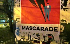 The neverending story (Robert Saucier) Tags: affiche poster mascarade bénélux ombre shadow img2934 mur wall vitre vitrine cristal arbre