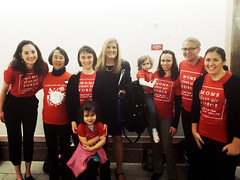 Moms with Alexandra Dunn on Capitol Hill