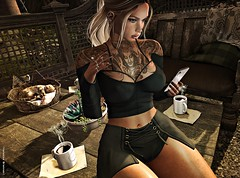 ︱LOTD .367. |Waiting ... What else ? (♕ Vanessa ♕) Tags: vanityevent cosmopolitan carolg tattoo adorsy photographer blogger
