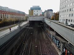 Disappearing Under Station (mikecogh) Tags: vienna rennweg station railwaylines underground sbahn