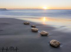 Cala Jovera, Altafulla (Tarragona) (borjamuro) Tags: cala playa altafulla tamarit tarragona jovera beach sunrise dawn amanecer color colour earth tierra mar sea nikon d7100 lucroit españa espana spain