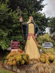 Corrugated iron Jesus, Tirau, New Zealand (steverh) Tags: corrugatediron tirau new zealand