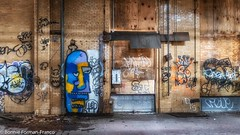 _2019-03-13  ABANDONED BUILDING LONG ISLAND_D85_5300- (Bonnie Forman-Franco) Tags: colorful hdr hdrphotography aurorahdr2019 abandoned abandonedphotography abandonedbuilding abandonedbuildings graffiti graffitiinabandonedbuildings bkue yellow green photoladybon abandonedphoto nikon nikcollection nikond850 nikon2470 photography photographybywomen photographer hdrphotos longisland newyork urbex urbandecay decayed rot
