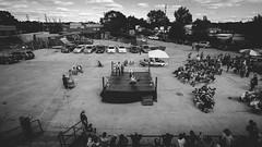 slam. (jonathancastellino) Tags: toronto wrestling leica m gather crowd slam move ring match junction