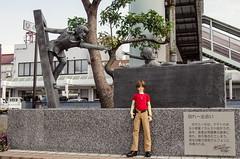 Tsuruga Symbol Road Monument (Suliveyn) Tags: japan tsuruga symbol road monument leiji matsumoto space battleship yamato bjd doll sd13 boy link