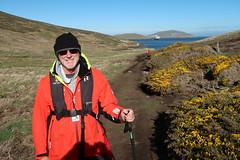 2018-102763 (bubbahop) Tags: 2018 antarcticatrip falklandislands newisland hike bubbahop hat jacket