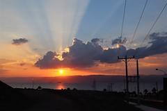 Jordan Aqaba (rolfij) Tags: jordan aqaba sea sun cloud redsea sunset light