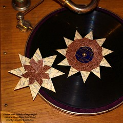 Maria's Ring Stern  and Corona Star (AnkaAlex) Tags: origami origamistar christmas modulorigami modul modular mariasinayskaya stars star
