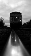 Ready and Waiting (Wulfruna) Tags: grid 56078 colas steel freight railway diesel locomotive bostonsteel uk england washwoodheath railhead reflection 6e07