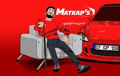 Matkap's W.I.P Okan Çekiç (sharp desıgn) Tags: honda s2000 matkaps 07 gp 108 red white car light jeans swıtshırt face shoe wındow sharp desıgn graphıc