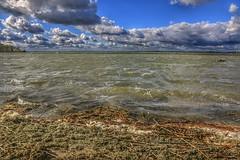 Over the lake (Roman_P2013) Tags: water lake best shot landscape mazury poland clouds beautiful super