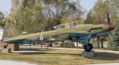 Ilyushin Il-2 ( Илью́шин Ил-2) Shturmovik, (Штурмови́к) (Chickenhawk72) Tags: museum krumovo plovdiv bulgaria ilyushin soviet air forces blue sky metal war world il2 илью́шин ил2 shturmovik штурмови́к aviation ground attack aircraft ussr