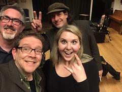 Chris Conway & Dan Britton + Neil Rabjohn with Ruth Notman (unclechristo) Tags: chrisconway danbritton ruthnotman alstonefield