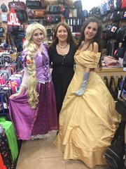 Treasure Hunt in Lancaster (Elysia in Wonderland) Tags: lancaster treasure hunt rapunzel elysia marvellous events bid shopping centre disney princess costume cosplay gillisons bag shop belle meryn