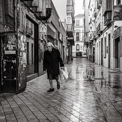 early in the morning (Gerard Koopen) Tags: spanje spain espana malaga city urban people woman shopping straat street straatfotografie streetphotography streetlife bw blackandwhite blackandwhiteonly sony sonyalpha a7iii 2018 gerardkoopen gerardkoopenphotography