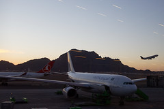 Take off (NA.dir) Tags: medina airport prince mohammad bin abdulaziz international saudi arabia airlines