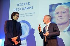 Thibaut Gemignani et Didier Deschamps