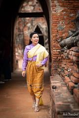 Ayutthaya (ArchMerciGod) Tags: green ayutthaya thai บุพเพสันนิวาส ละคร ช่อง3 family thaidress portrait fashion beautiful vintage ancient city lopburi อยุธยา ลพบุรี