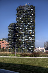 Bosco Verticale (pbr42) Tags: italy lombardy milan hdr boscoverticale architecture tower forest verticalforest outdoor sky