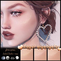 WarPaint* @ Naughty or Nice (Mainstore Event) (Mafalda Hienrichs) Tags: warpaint war paint secondlife naughty or nice mainstore event holidays christmas angel highlighter glitter catwa lelutka genus omega cosmetics applier