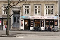Oasen (Mogens. B. A) Tags: shawarma falkoneralle frederiksberg copenhagen denmark fastfood pizza