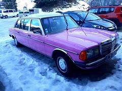 Mercedes Benz 300 (benoits15) Tags: mercedesbenz 300 german pink car rose