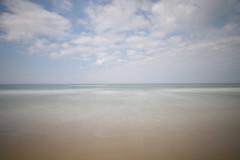 September vs. Dezember (kuestenkind) Tags: strand beach dänemark denmark langzeitbelichtung longexposure northsea nordsee kalenderblatt