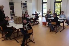 V1b in de nieuwe klas