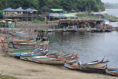 MYANMAR (gabrielebettelli56) Tags: asia myanmar amarapura boats barche lago lake acqua water people colors nikon travel viaggi