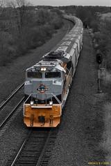 Proud Heritage (R.G. Five) Tags: up union pacific 1989 geneva sub rio grande frac sand heritage train railroad