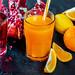 Pomegranate and Citrus Fresh Juices